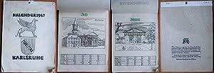 Kalender 1947 / Karlsruhe.: Wilkendorf, Wolfgang: