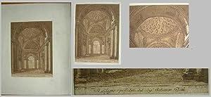 Original-Radierung von CC. M. G. (Graf Cesare M. Gini (?)) nach Mauro Tesi.: Original-Radierung: