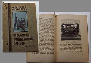 Dompfarrei Freiburg i. Br. / Pfarr-Führer 1930 / 4. Jahrgang.: Prälat Dr. Brettle (Dompfarrer):