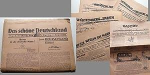 Sonderschrift des Berliner Tagblatt / vom 10. Mai 1930. - Mit 5 Beilagen.: Berliner Tageblatt: