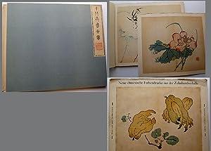 Neue chinesische Farbendrucke aus der Zehnbambushalle. Eine: Tschichold, Jan: