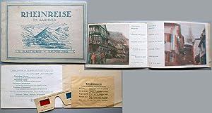 Rheinreise im Raumbild / 14 Plastoskop-Raumbilder. -: Dreyer Co., Berlin