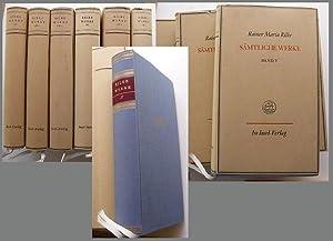 Sämtliche Werke. Herausgegeben vom Rilke-Archiv in Verbindung: Rilke, Rainer Maria;