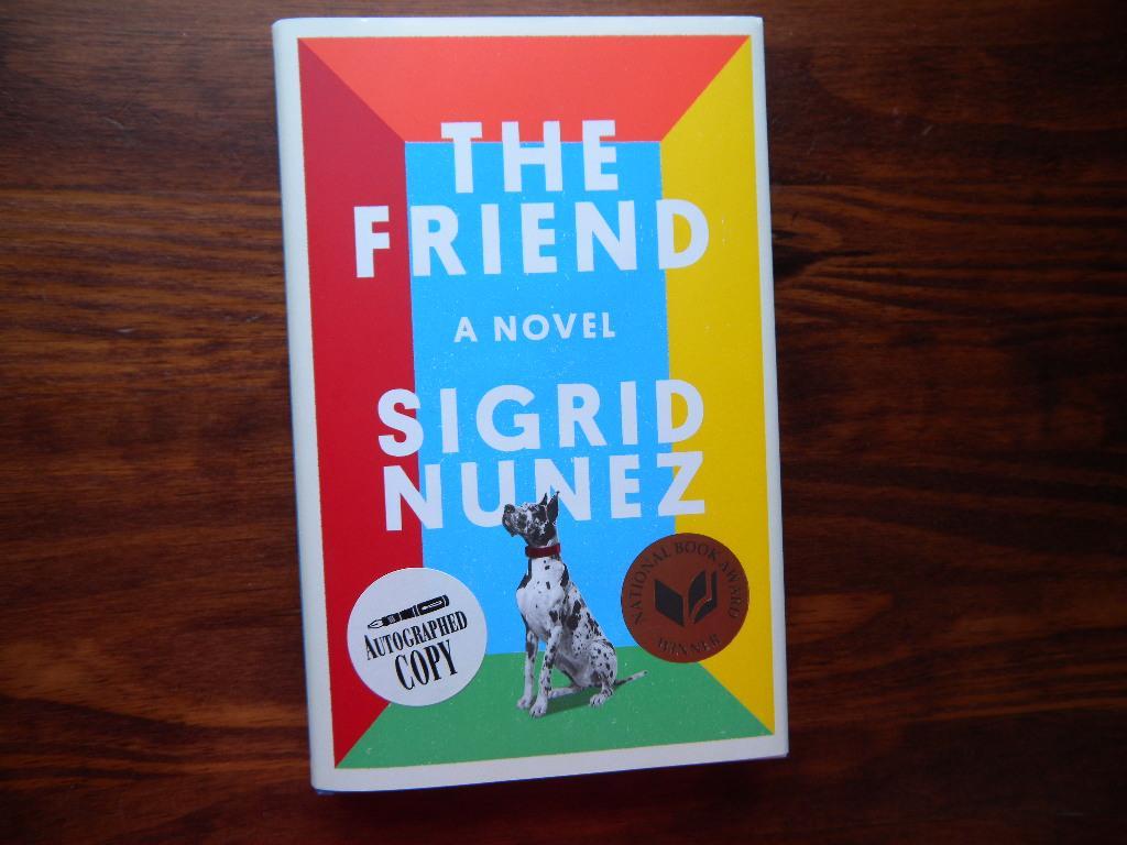 The_Friend_Signed_Nunez_Sigrid_Très_bon_Couverture_rigide
