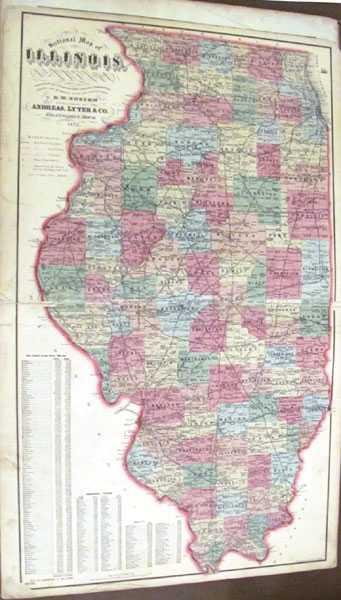 Atlas map of morgan county illinois by andreas lyter co atlas map of morgan county illinois andreas gumiabroncs Gallery