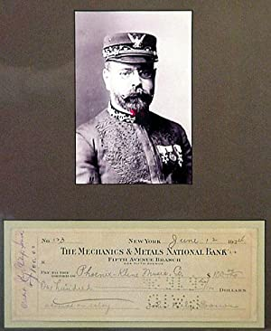 John Philip Sousa Advances Money to Band Member 1924: Sousa, John Philip