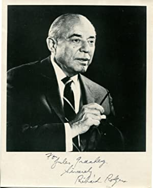 Richard Rodgers Signed Photograph