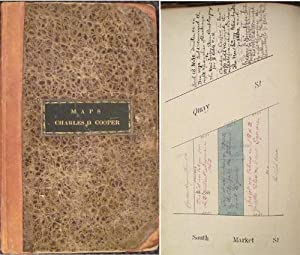 1841 Manuscript Lot Maps of Albany Property Owned by Charles D. Cooper