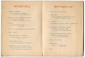 1882 Roseland Park Woodstock, CT July 4th Program