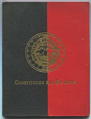 Constitution and By-Laws of the Montclair Athletic Club Incorporated May 1, 1890: Various / Unknown