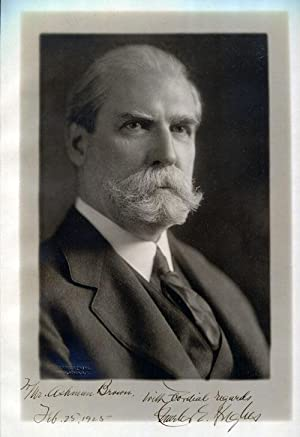 Charles Evans Hughes Signed Photograph