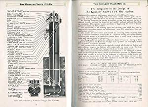 Kennedy Newtype Fire Hydrants and Water Gates [Catalog]: The Kennedy Valve Mfg. Co.
