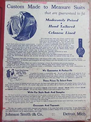 Johnson Smith & Co. Catalog of Furniture Jewelry Silverware Etc. Catalog No. 152: Johnson Smith...