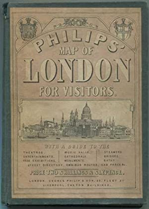 Phillips' Map of London for Visitors and London Guide