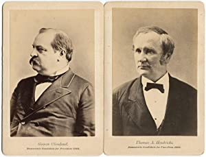 Cleveland/Hendricks Presidential Campaign Cabinet Photographs