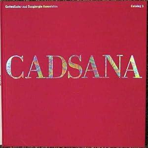 Cadsana: Catalog 1: Cadwallader, Robert and Langan, Kay