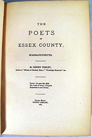 The Poets of Essex County: Perley, Sidney