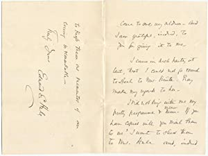 1893 Edward Everett Hale Autograph Letter Signed