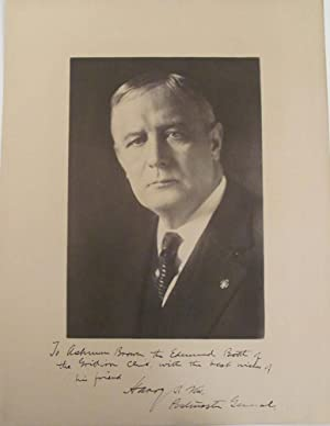 Postmaster General Harry S. New Signed Photograph