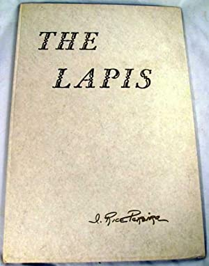 The Lapis: Pereira, I. Rice