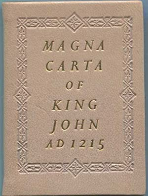 Magna Carta of King John AD 1215: Unstated