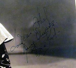 Vaudeville Dancer Dora Ford Signed Photograph