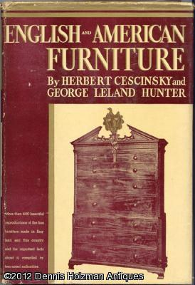 English and American Furniture: A Pictorial Handbook of Fine Furniture Made in Great Britain and ...