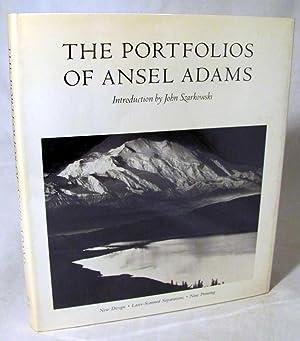 The Portfolios of Ansel Adams: Adams, Ansel; Szarkowski,