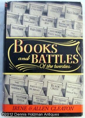 Books and Battles of the Twenties: Cleaton, Irene and Allen