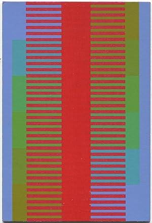 "Joseph Albers Original Abstract Screen-Print  /""Ascension/"""