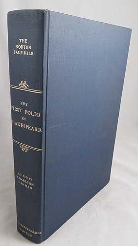 The Norton Facsimile] The First Folio of: Shakespeare, William; Hinman,