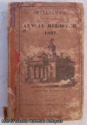 The New York Register for the Year of Our Lord 1837: Williams, Edwin