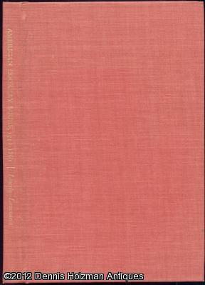 American Cookery Books 1742-1860.: Lincoln, Waldo; Lowenstein, Eleanor ( revised )
