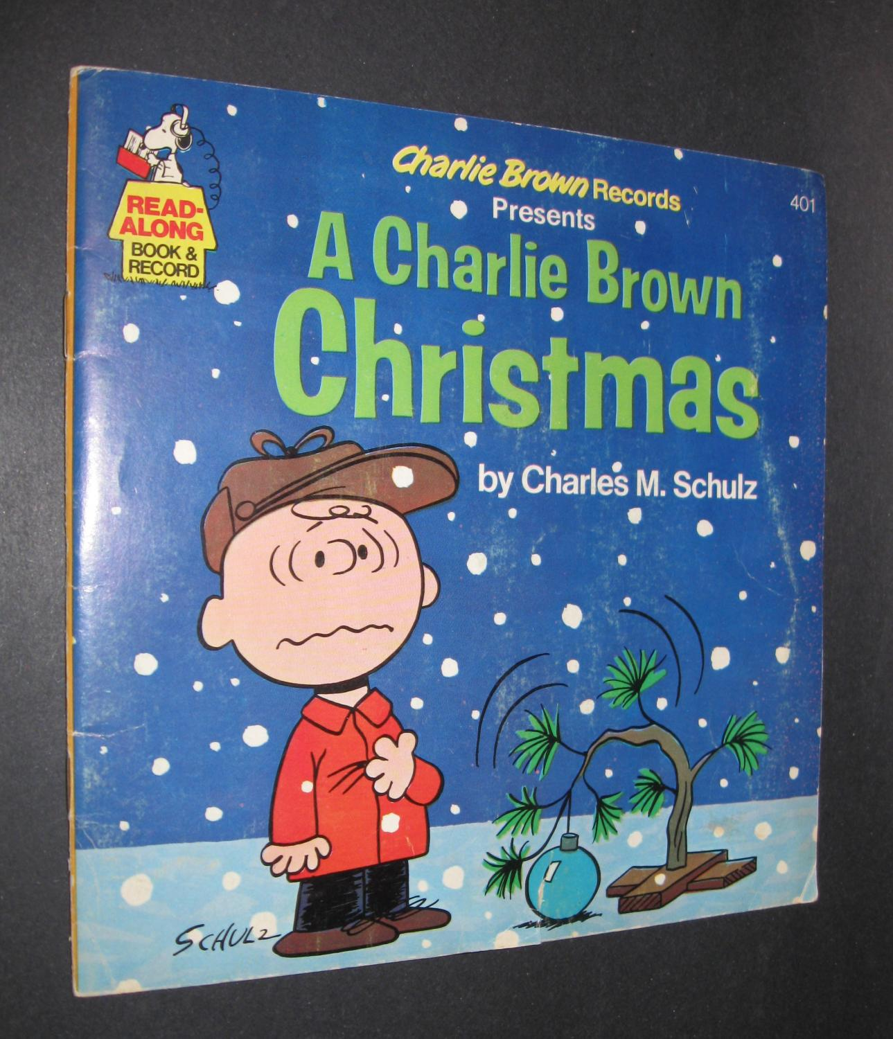 A Charlie Brown Christmas Book.A Charlie Brown Christmas Read Along Book