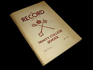 Trinity College School Record; vol 54, no. 2. December 1950