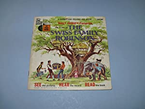 Walt Disney Presents the Story of the Swiss Family Robinson [Book and Record]
