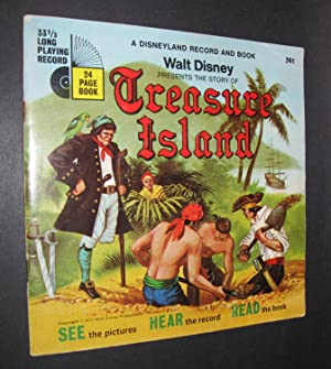 Walt Disney Presents the Story of Treasure Island [Book and Record]