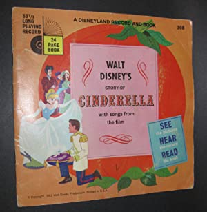 Walt Disney's Story of Cinderella [Book and Record]