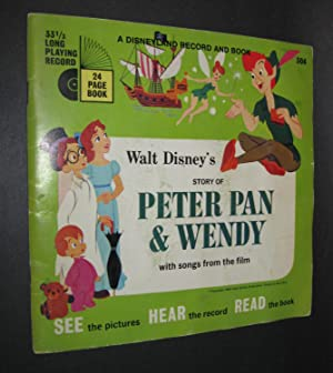 Walt Disney's Story of Peter Pan and Wendy [Book and Record]