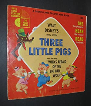 Walt Disney's Story of the Three Little Pigs [Book and Record]