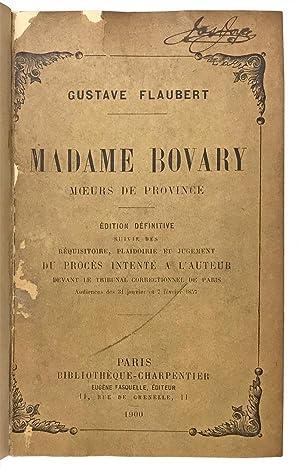 Madame Bovary. Moeurs de Province. Édition Définitive: Flaubert, Gustave; [Joyce,