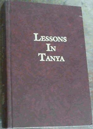Lessons in Tanya, Vol. 1 Only: Wineberg, Rabbi Yosef