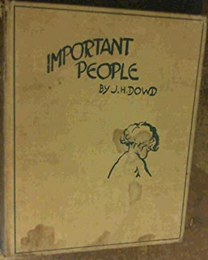 Important People: Dowd, J.H. ;