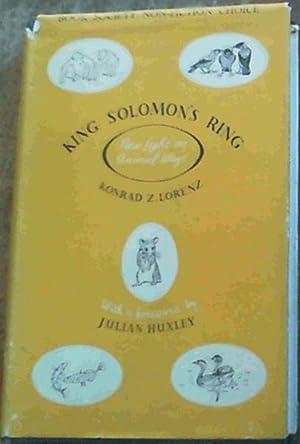 King Solomon's Ring: Lorenz, Konrad Z.