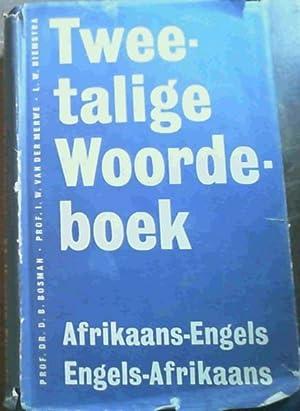 Tweetalige Woordeboek : Afrikaan - Engels: Bosman, D. :