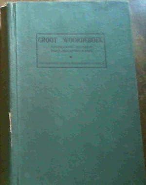 Groot Woordeboek Afrikaans-Engels, Engels-Afrikaans: Kritzinger, M.S.B. et