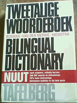 Tweetalige Woordeboek/ Bilingual Dictionary: Afrikaans-English and English-Afrikaans