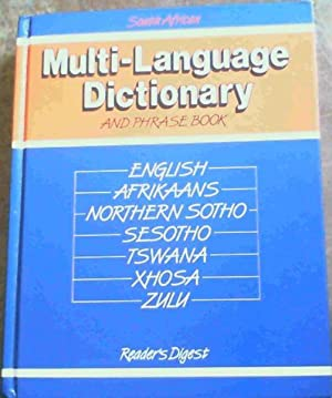 South Africa Multilanguage Dictionary and Phrase Book.: Reader's Digest; Reynierse,