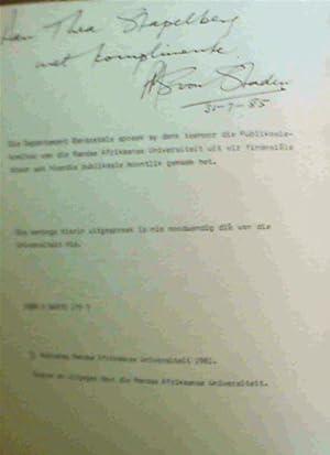 Opstelle oor Taalen en Letterkunde (Departement Bantoetale): Groenewald, H.C.; Kock,