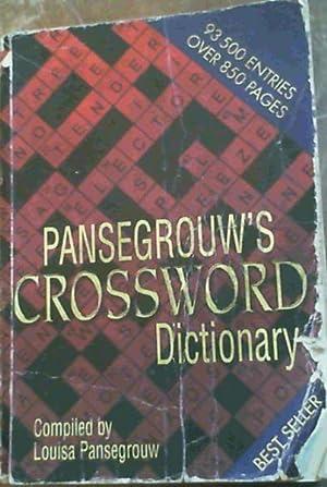Pansegrouw's Crossword Dictionary: Pansegrouw, L.L.